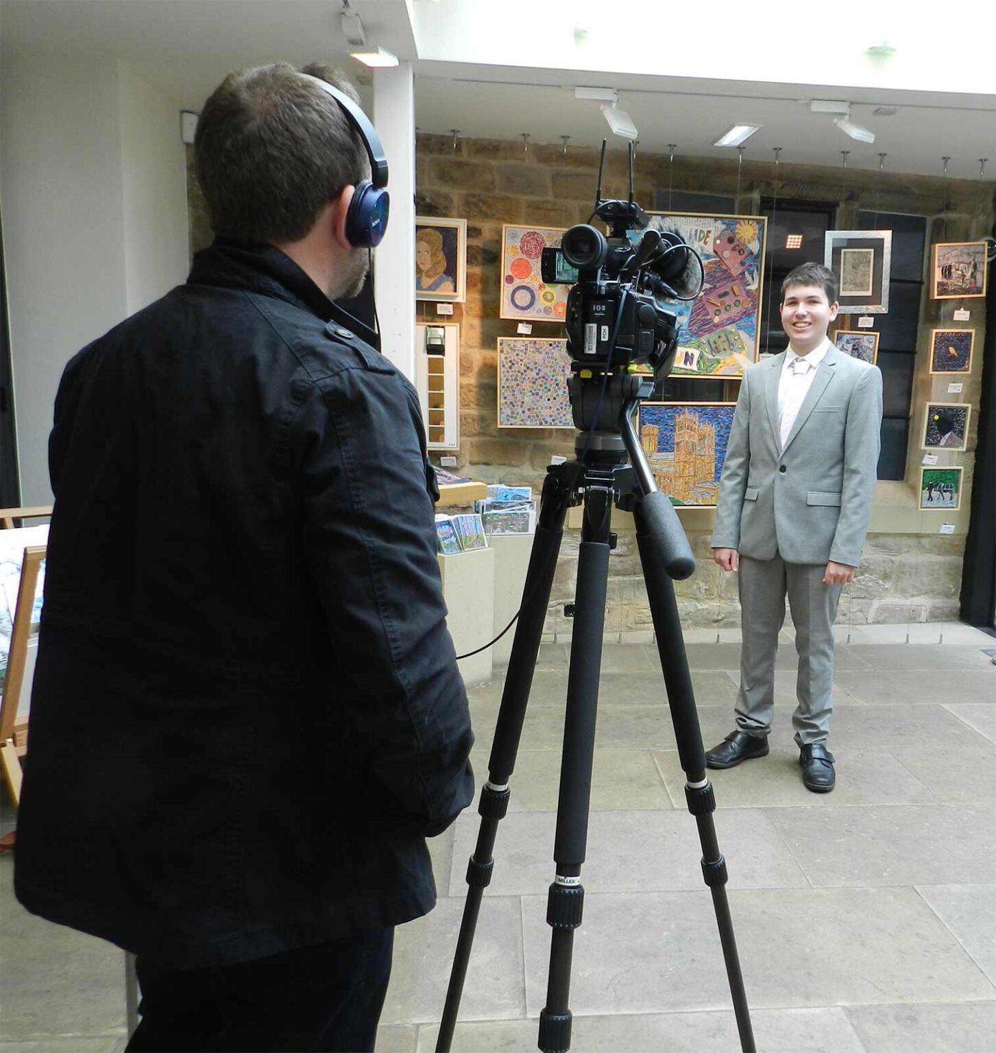 James Owen Thomas TV Interview